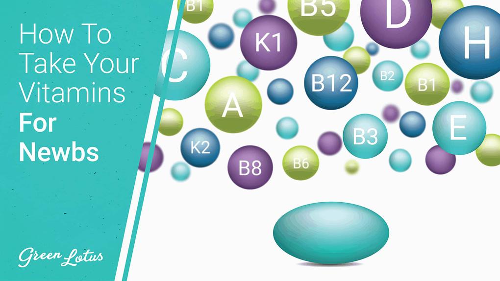 Graphic of Vitamins