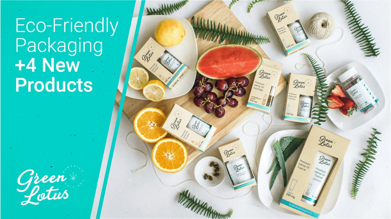 Eco-Friendly Hemp Paper Packaging + 4 New Products!