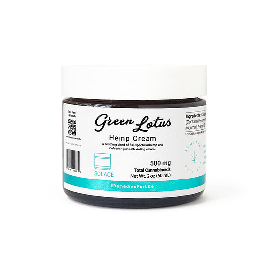 Solace with Celadring 500mg - CBD Cream