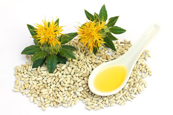 Safflower seeds and oil.