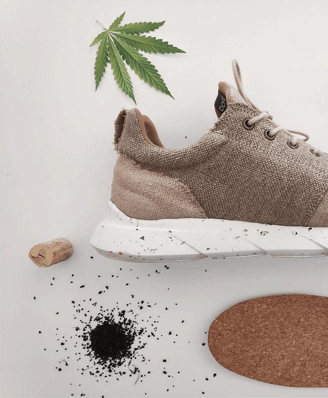 Green Lotus Hemp Dope Kicks Shoes