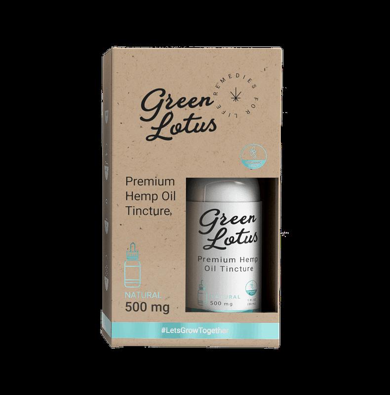 Green Lotus 500mg Tincture Natural