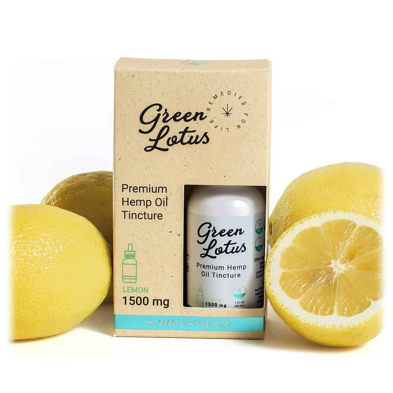 Lemon CBD Tincture