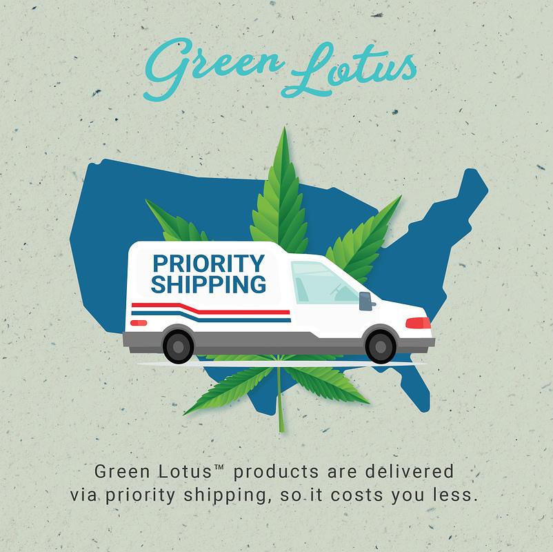 Green Lotus Hemp Priority Shipping